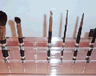 pleksi-fırça-standı