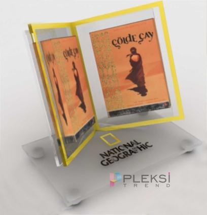 pleksi-dergi-standı